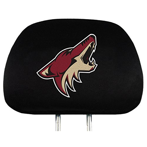 Team ProMark NHL Arizona Coyotes Head Rest Covers, 2-Pack