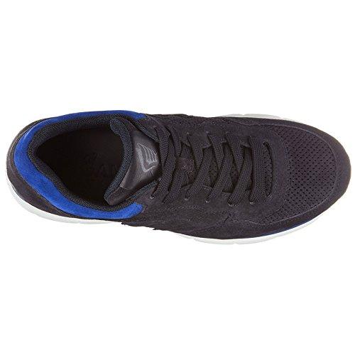 Sneakers forato h3d Hogan en blu Baskets Daim Homme Chaussures qxBAF