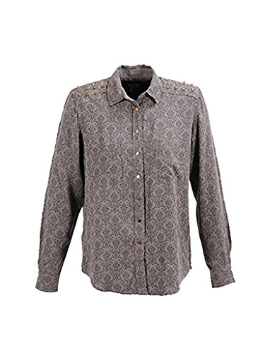 PEPE JEANS - CAMISA MUJER TEATIME - COLOR: GRIS