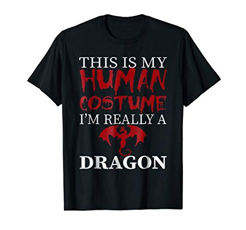This Is my Human Costume I'm Really A Dragon -