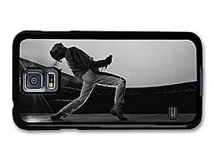 Freddie Mercury Queen Singing Black & White carcasa de Samsung Galaxy S5 A5226