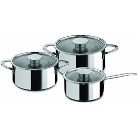 Mepra Gourmet 6 Piece Everyday Cookware Set