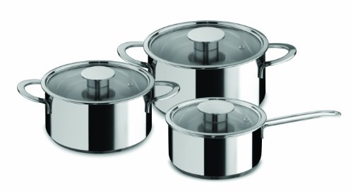 Mepra Gourmet 6-Piece Everyday Cookware Set by MEPRA