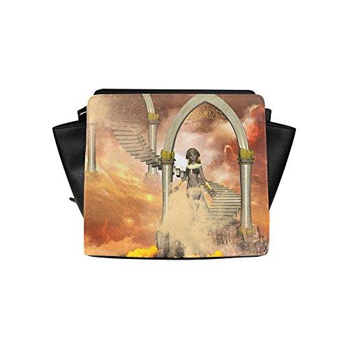 Fashion Design In The Sky Satchel Bag (model 1635) Angelakochhappy