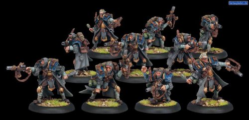Price comparison product image Trencher Commando Unit Cygnar - Forces of Warmachine by Privateer Press