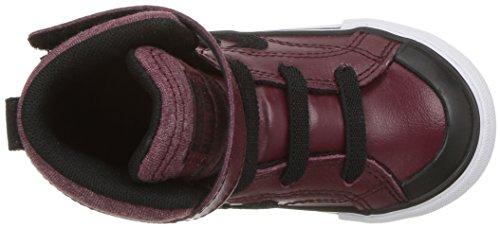 Converse Deporte Burgundy de Unisex Strap Zapatillas Dark Pro White Black Adulto Blaze 613 Multicolor 1vxnqr1