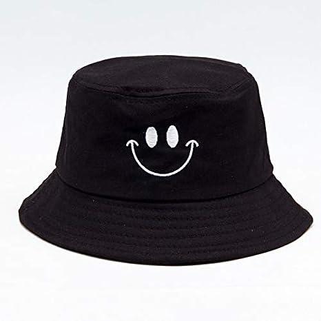 TRFGF SombreroColor Sólido Sombreros De Cubo Sombreado Gorras ...