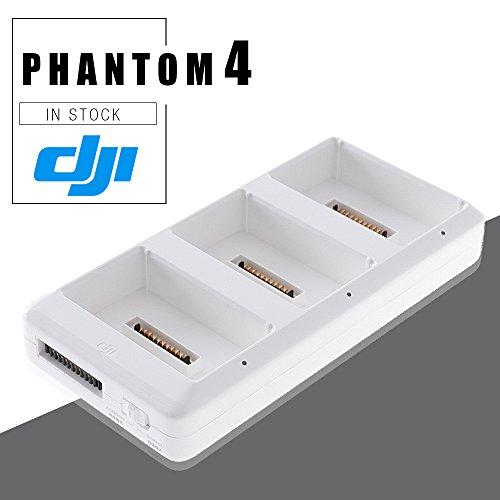 DJI Phantom Battery Charging White