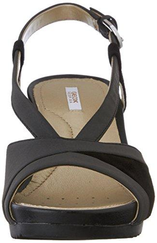Femme Noir c9999 Sandales Rorie Geox New A D Zn4wX