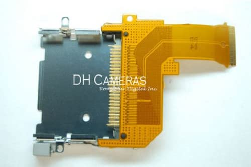CANON EOS 5D MEMORY CARD CF PIN SLOT UNIT NEW AUTHENTIC ORIGINAL REPAIR PART OEM