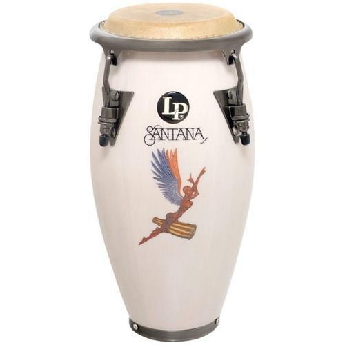 Latin Percussion Santana Mini Conga, White by Latin Percussion