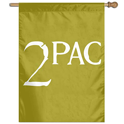 YOUNEVERFORGETME 2Pac and Makaveli Garden Flag 27