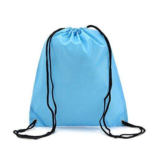 Basketball Design Waterproof Drawstring Bag - 2