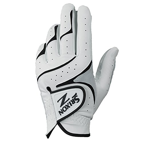Srixon Mens Z All Weather Golf Gloves, White/Black, Medium/Large, Right Hand