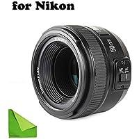 YONGNUO YN EF 50mm f/1.8 AF Lens YN50 Aperture Auto Focus...