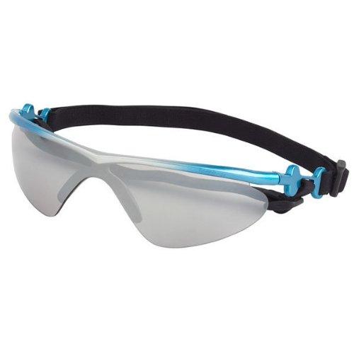 Doggles K9 Optix Blue Rubber Gradient Frame with Smoke Lens Sunglasses, - Sunglasses Doggle