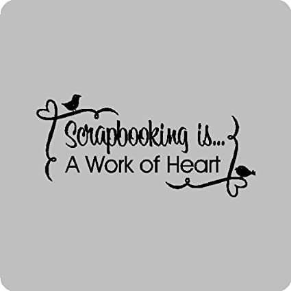 Amazon Scrapbooking Is A Work Of Heartrapbooking Wall