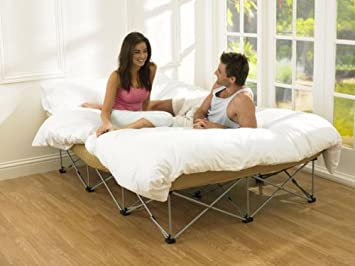 Anywhere Folding Double Guest Bed: Amazon.co.uk: Kitchen & Home