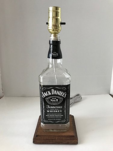 Jack Daniels Lamp, Jack Daniels Bottle Lamp, used for sale  Delivered anywhere in USA
