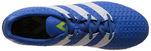 adidas Ace 16.4 Fxg, Botas de Fútbol para Hombre Azul / Blanco / Verde (Azuimp / Ftwbla / Seliso)