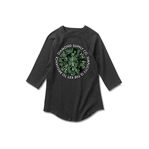 diamond supply co black and green - 9