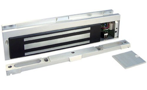 Securitron Magnalock Electromagnetic Lock, 600lbs Holding Force, 12/24VDC by Securitron