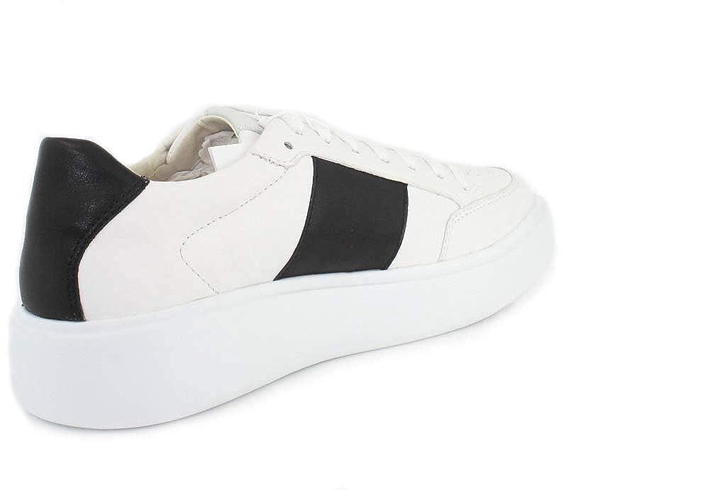 Scarpe sport di Uomo GEOX U927BB 08554 U OTTAYA C0404 WHITE BLACK Misure 43