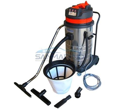 SANMARINO ASPIRADORA Profesional Polvo-Agua 3 Motores. 3000 WATIOS. Valida para LIMPIATAPICERIAS: Amazon.es: Coche y moto
