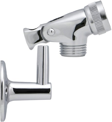Chrome Handheld Showerhead Wall Bracket With Pin Mount Set Hand