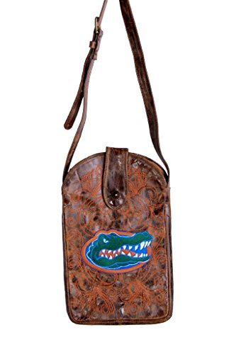 NCAA Florida Gators Women's Cross Body Purse, Brass, One Size by Gameday Boots