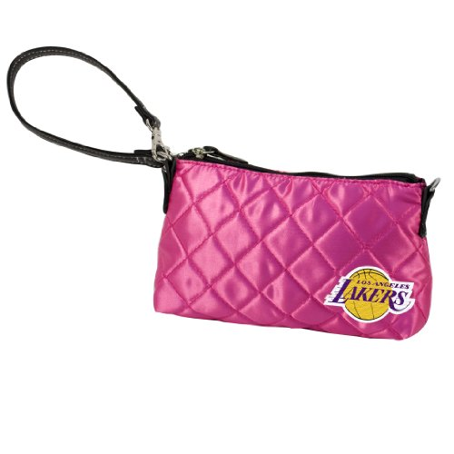nba-los-angeles-lakers-pink-quilted-wristlet