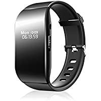 ElementDigital Voice Recorder Watch Wrist Band Digital Audio Voice Recorder Noise Reduction with Voice Activated Recording Voice Enciphering MP3 Player 48 Hours Recording 16GB