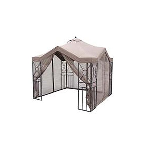 Amazoncom Deluxe Pagoda Gazebo Replacement Canopy and Netting