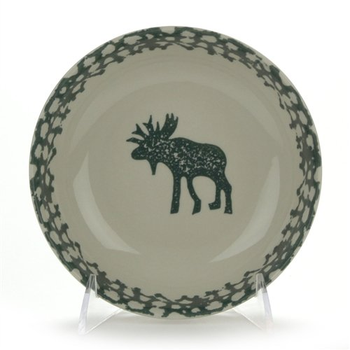 Moose Country by Tienshan, Stoneware Soup/Cereal Bowl