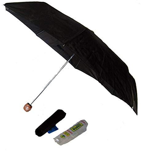 Compact Folding Black Umbrella Super - Mini Compact Super