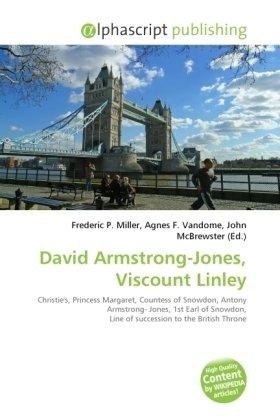David Armstrong-Jones, Viscount Linley