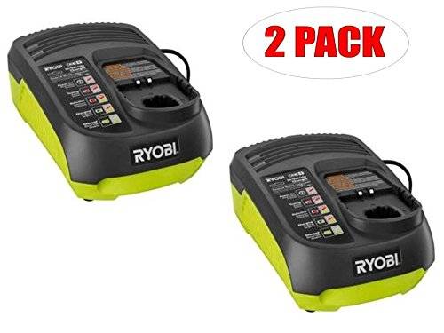 Ryobi P131 18v Vehicle nicad/lion One+ Battery Charger (2-PACK) # 140126001-2PK by Ryobi