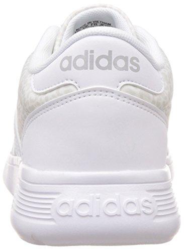 adidas Lite Racer W, Zapatillas de Deporte para Mujer Blanco (Ftwbla / Ftwbla / Onicla)