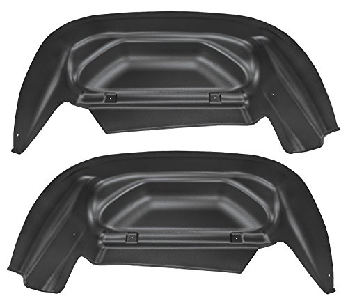 Husky Liners Rear Wheel Well Guards Fits 14-17 Silverado 1500(15-16 (Rear Wheel Guards)