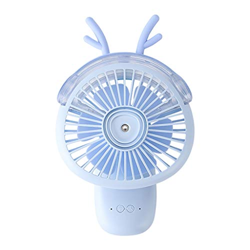 7' Folding Desktop Table Fan - Togethor Small Personal USB Desk Fan,3 Speeds Portable Desktop Table Cooling Fan Powered by USB,Strong Wind,Quiet Operation,for Home Office Car Outdoor Travel (Navy Blue)