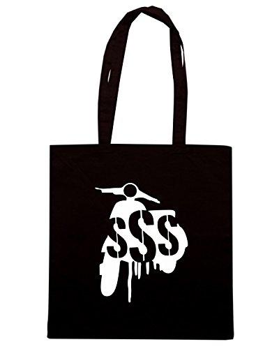 T-Shirtshock - Bolsa para la compra OLDENG00637 secretscootersociety black Negro