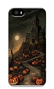 iPhone 5 5S Case Halloween Haunted House 3D Custom iPhone 5 5S Case Cover