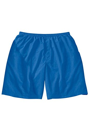 Classic Swim Trunks, Royal Blue Big-4Xl