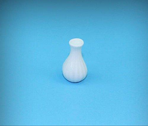 NICE 1:12 Scale Dollhouse Miniature White Long Neck Porcelain Vase #MMP104 - My Mini Fairy Garden Dollhouse Accessories for Outdoor or House Decor (Porcelain Neck Long)