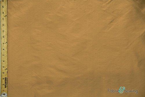 Dark Orange Silk Dupioni Upholstery Fabric Silk Light Weight 54