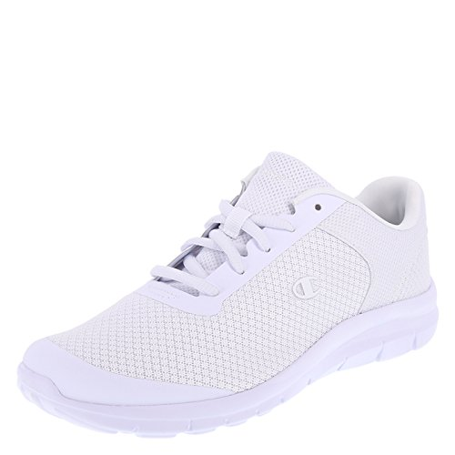 Champion Women's White Mesh Performance Gusto Cross Trainer 9.5 (White Shoes Trainers)