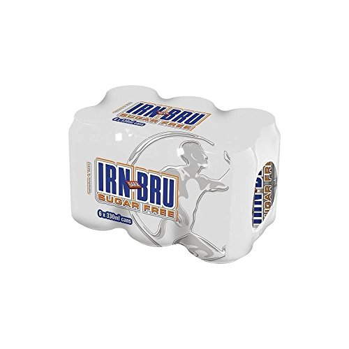 Barr Irn Bru Sugar Free (6x330ml) by Barr Co