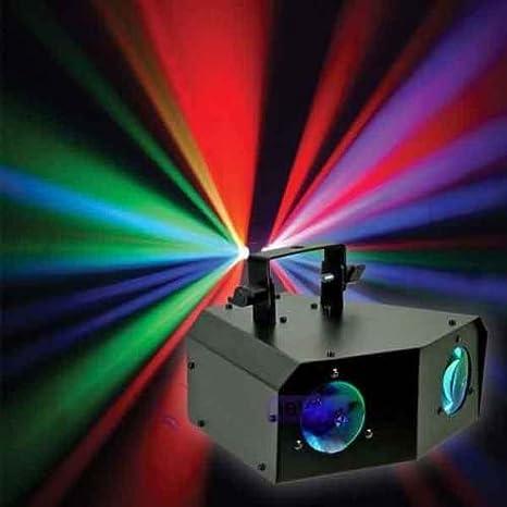 Gbl ® DJ Disco luz DMX-Proyector de iluminación LED RGB Dual ...