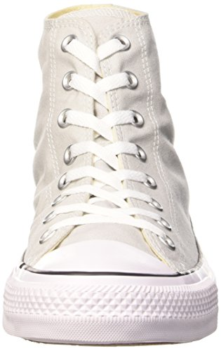 Converse Chuck Taylor All Star, Zapatillas Altas Unisex Adulto Gris (Mouse/White/Black)