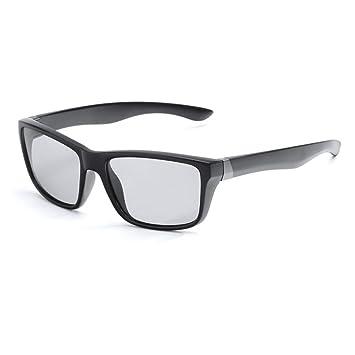 CCGSDJ Cambio De Color Gafas De Sol Fotocromáticas Hombres ...